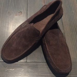 UGGs Nubuck leather loafers size 12